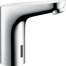 Hansgrohe Decor Electronic basin mixer with temperature pre-adjustment mains connection 230 V